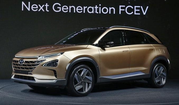 Hyundai'nin yeni elektrikli SUV'u görücüye çıktı