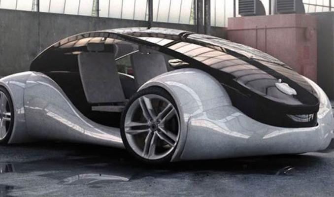 İşte Apple'ın sürücüsüz otomobili