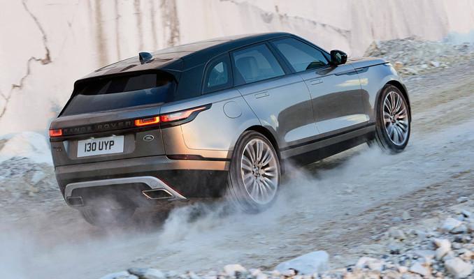 Range Rover Velar Türkiye'ye doğru yola çıktı