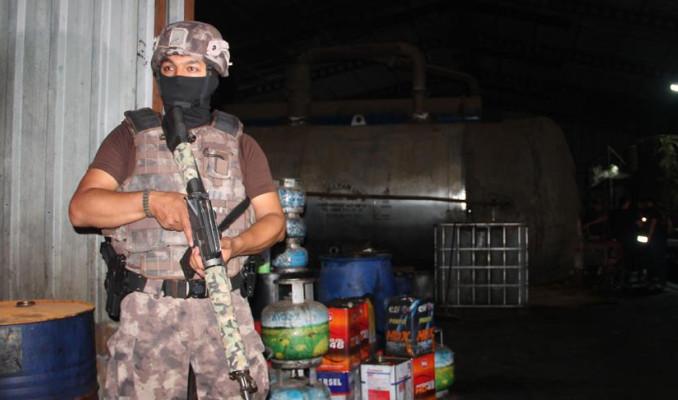 Sultangazi'de kaçak akaryakıt operasyonu