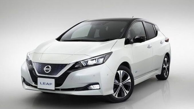 Nissan Leaf 2018'e uzun menzilde girecek!