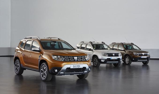 Yeni Dacia Duster Frankfurt otomobil fuarı'nda