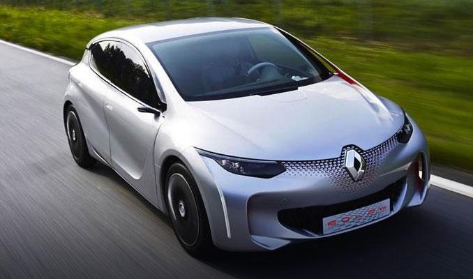 Renault'dan elektrikli otomobil atağı