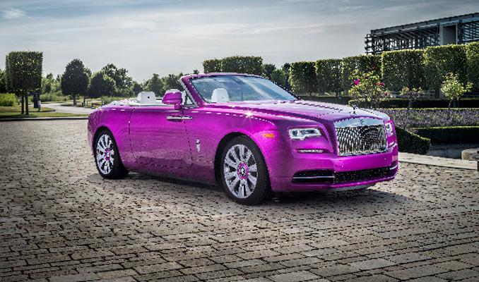 Kolleksiyon için fuşya Rolls-Royce
