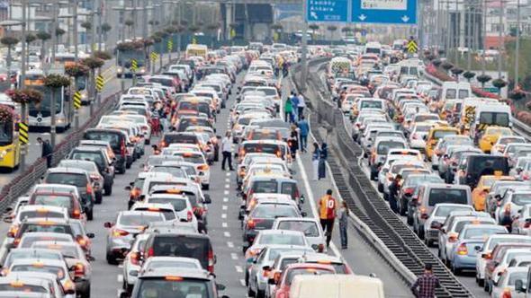İstanbul en kötü trafikte dünyada ilk 10'da
