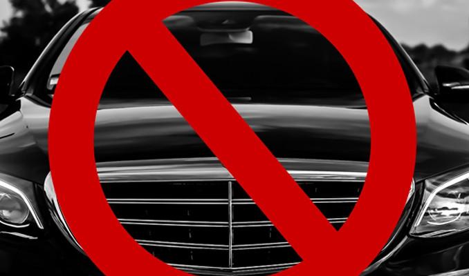 O ülkede siyah renkli arabalar yasaklandı!