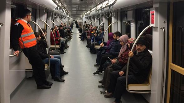 Sürücüsüz metroda büyük eksik