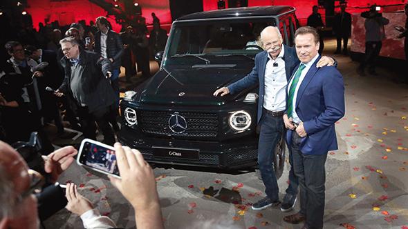 Mercedes'ten Detroit'te Arnold sürprizi