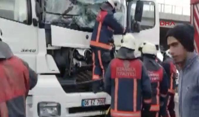 TEM otoyolu Edirne istikameti trafiğe kapandı