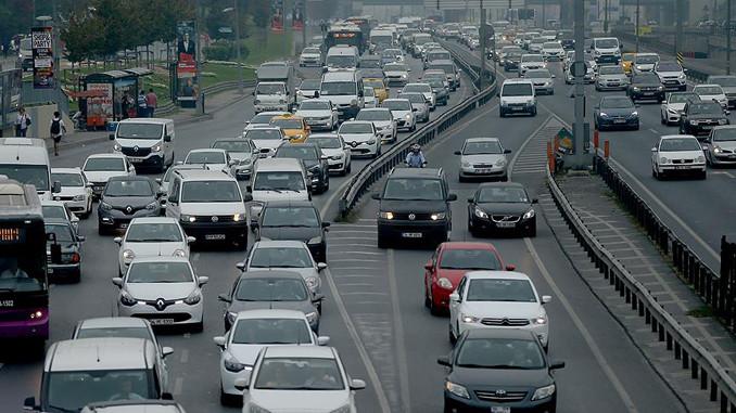 22 milyon araç trafikte otomobilde LPG birinci