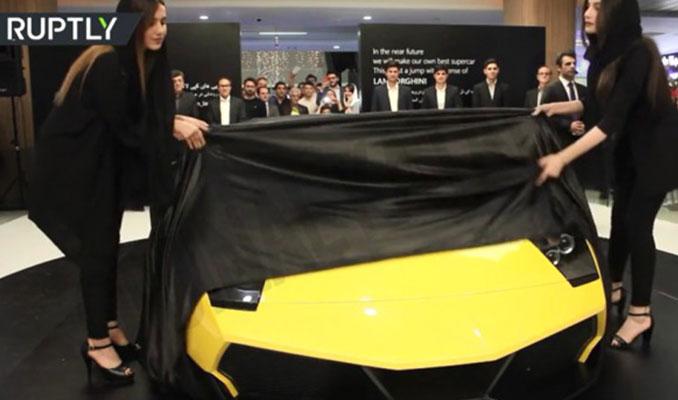 İranlı mühendislerin ürettiği yerli otomobil dünyada gündem oldu