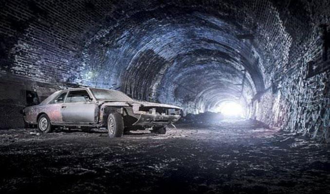 Tünelde terk edilmiş halde bulundular