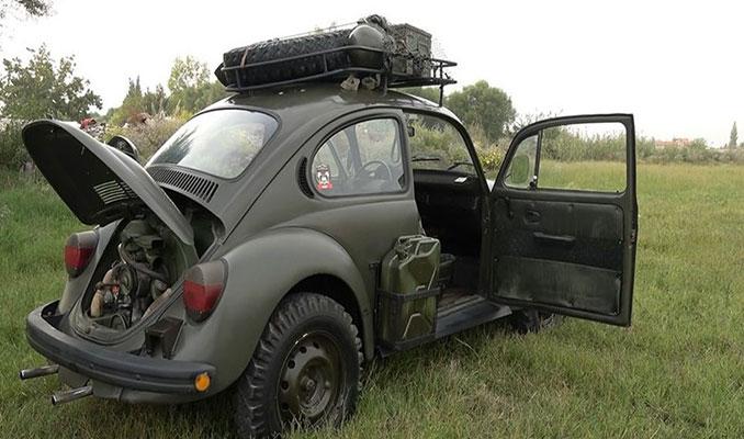Hitler'in savaş otomobilini yeniden topladı