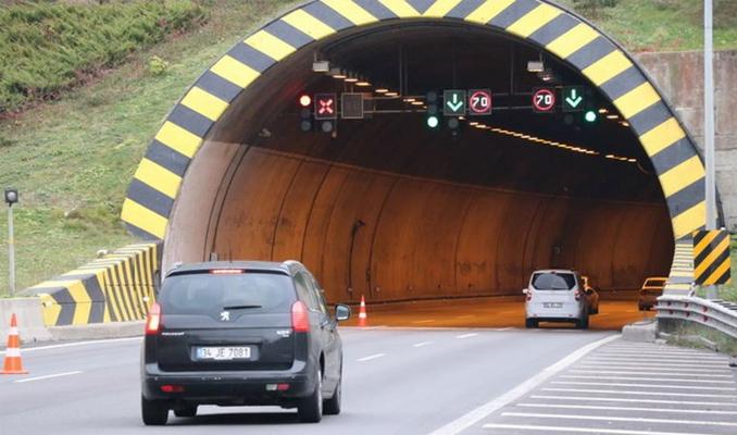 O tünel 20 gün trafiğe kapatılıyor