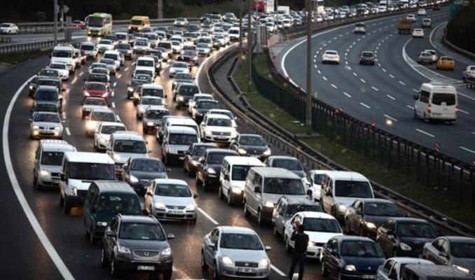 Trafiğe kaydı yapılan taşıt sayısı yüzde 47.7 azaldı