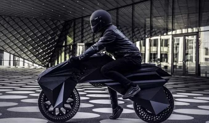 3D yazıcı ile elektrikli motosiklet üretildi