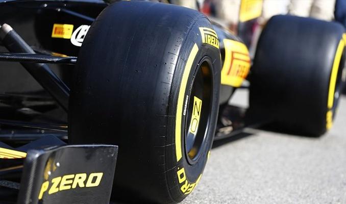 Formula 1'in lastikleri Pirelli'den