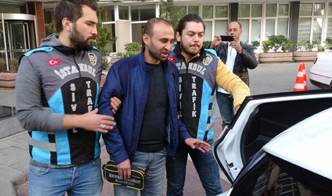 'Kısa mesafe' diyerek yolcu almayan taksiciye gözaltı