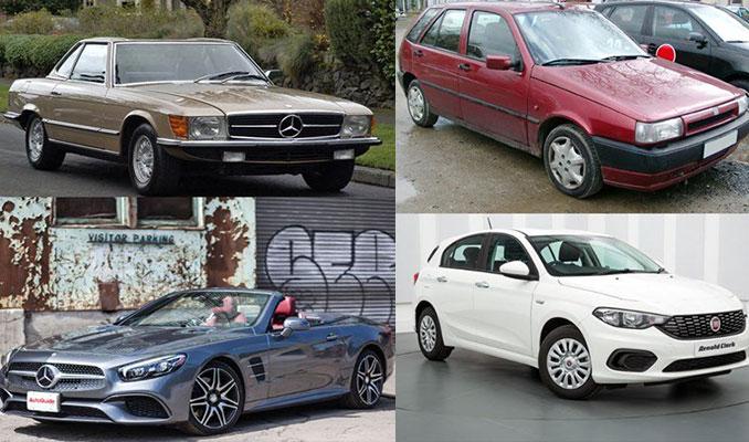 Efsane otomobillerin ilk ve son hali