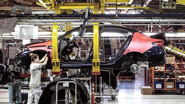 Otomotiv üretimi 1 milyon 427 bin oldu