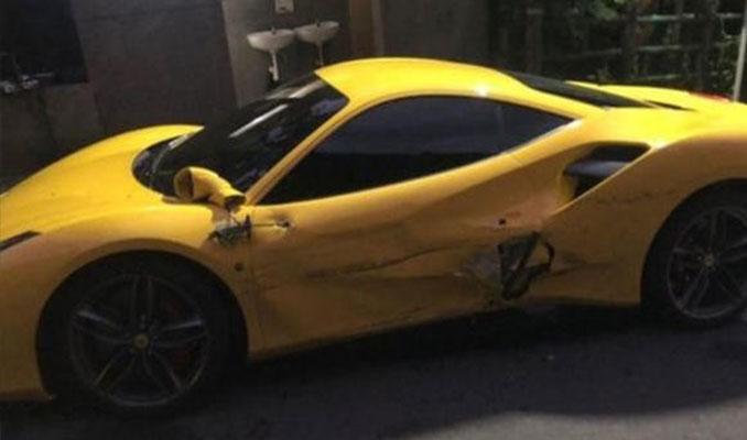3 Ferrari'ye çarpan garson için yardım kampanyası başlatıldı