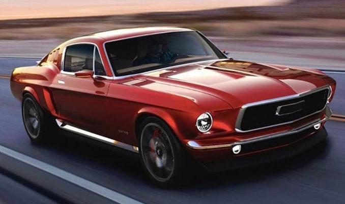 Ruslar Mustang'i 52 yıl sonra hayata döndürdü