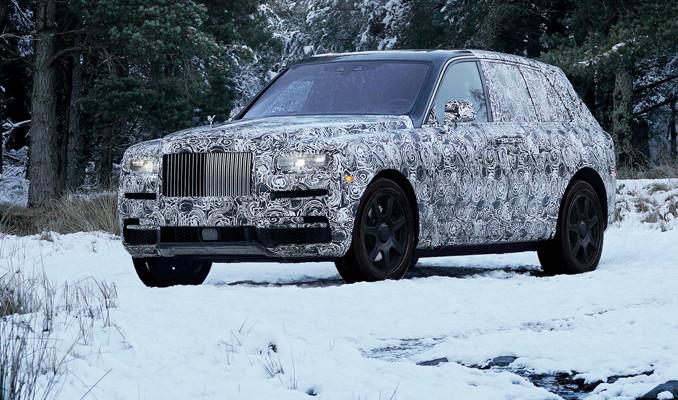 Rolls-Royce'un SUV aracının adı ''Cullinan'' oldu