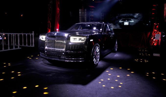 6 buçuk milyon liralık yeni Rolls-Royce Phantom Türkiye'de