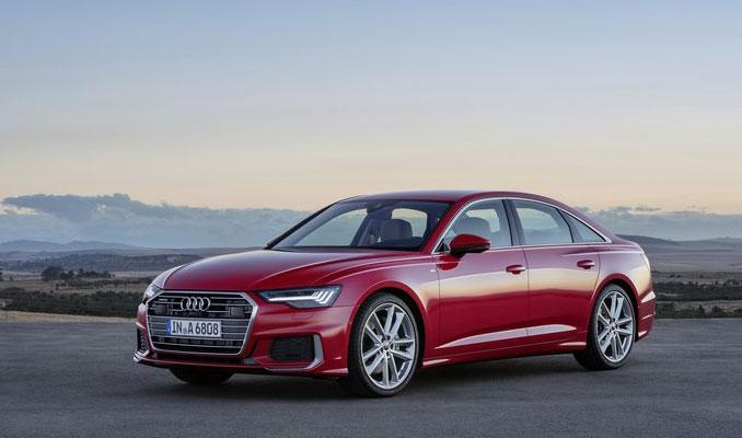 Audi A6 Cenevre'de görücüye çıkıyor