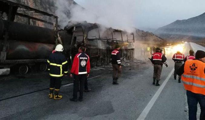 Çorum'da feci kaza: Ölü sayısı 11'e çıktı