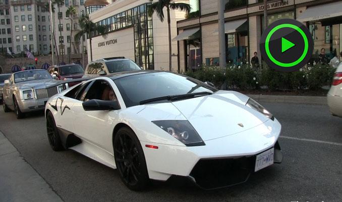 Uber Lamborghini ile hizmet veriyor