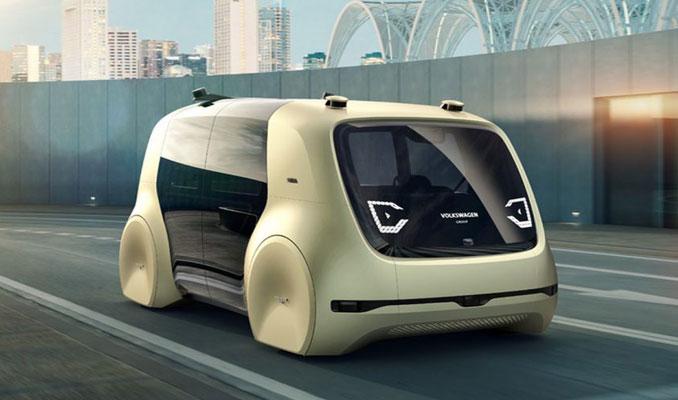 Geleceğin sürücüsüz otomobili
