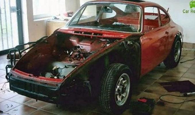 1965 model  Porsche'nin son hali inanılmaz...