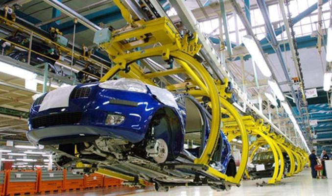 Otomotiv üretimi yüzde 1 arttı