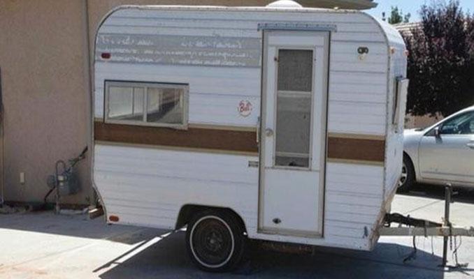 Çok ucuza aldığı karavanı müthiş bir eve çevirdi