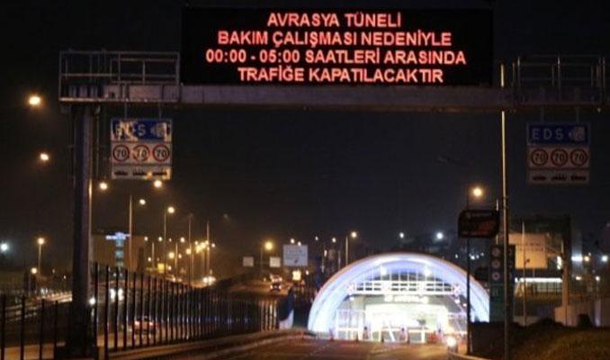 Avrasya Tüneli trafiğe yeniden açıldı