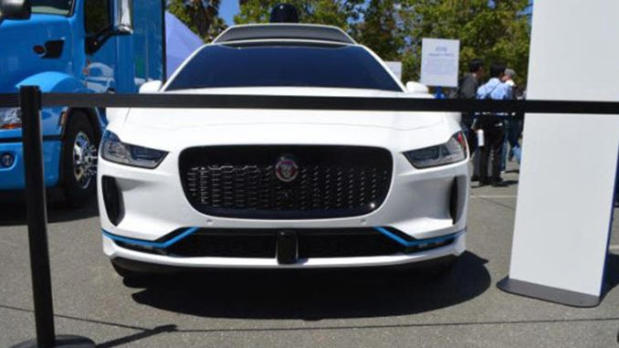 İşte Google'ın yeni sürücüsüz otomobili: Jaguar I-Pace