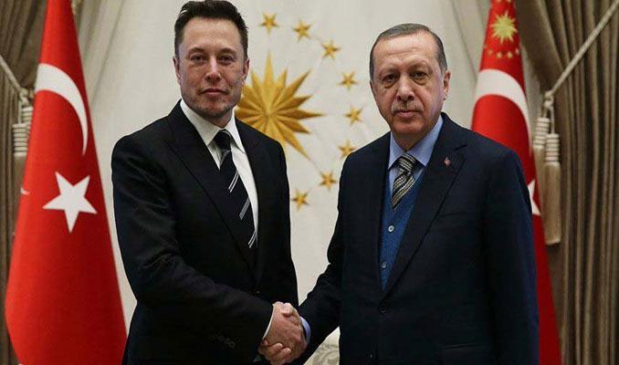 Erdoğan ve Elon Musk'ın buluşması