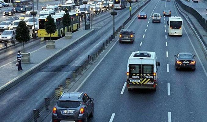 Trafiğe kayıtlı araç sayısı yüzde 50 arttı