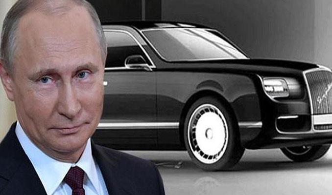 İşte Putin'in yerli limuzininin görüntüleri