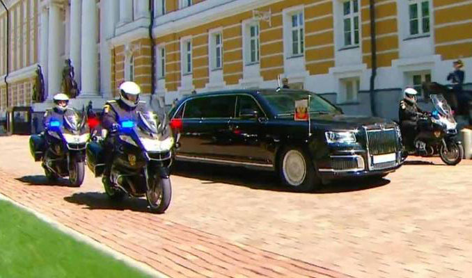 Putin'in Limuzini