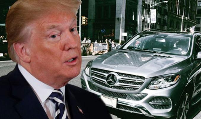 Trump: New York'un caddelerinden Mercedes'i silerim
