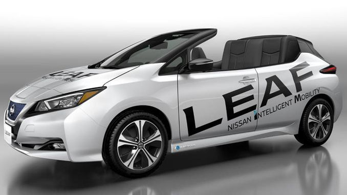 Nissan'dan üstü açılır otomobil