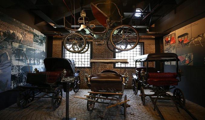 Anadolu arabalarının 2600 yıllık değişim yolcuğu bu müzede