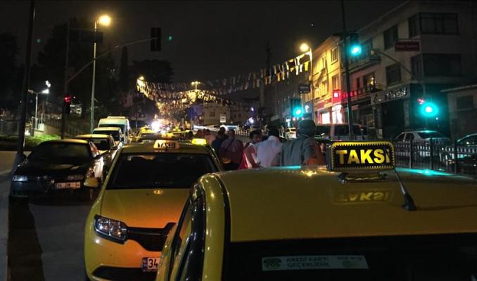 Cumhurbaşkanı Erdoğan'a taksicilerden teşekkür