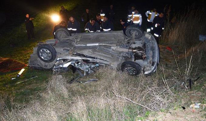 TEM'de korkunç kaza! 50 metre uzağa fırladı