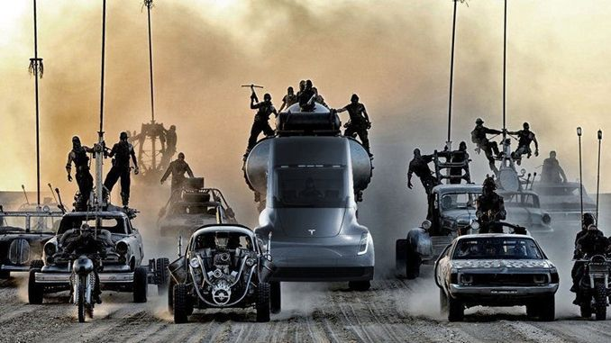 Tesla araçlarına Mad Max modu