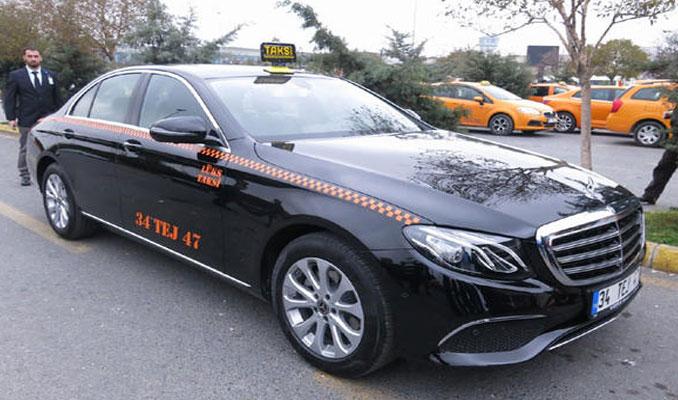 İşte İstanbul'un yeni lüks taksileri
