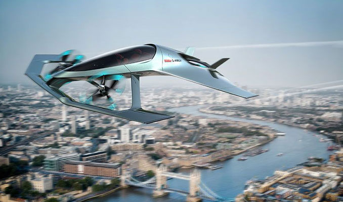 Aston Martin'den yeni lüks uçan araba
