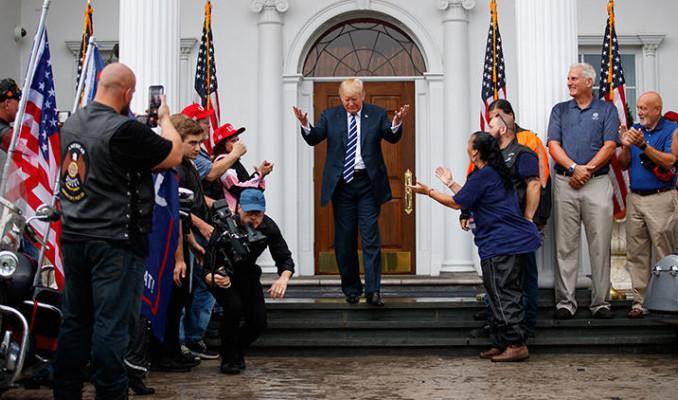 Trump'tan Harley-Davidson'a gözdağı